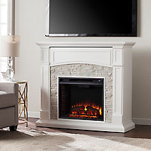 Electric Media Fireplace , 8821396