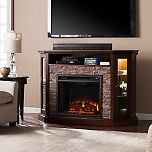 Electric Media Fireplace, 8821342