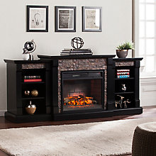 Electric Fireplace w/Bookcases, 8820758