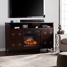 Infrared Fireplace Media Stand, 8821381