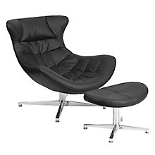 Cocoon Lounge Chair with Ottoman, 8814329