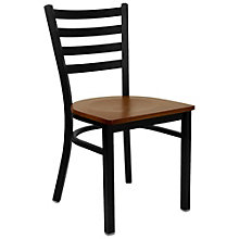 Jackson Slat Back Cafe Chair with Wood Seat, 8803707