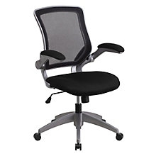 Hovlid Flip Arm Mesh Task Chair, 8803189