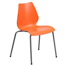 Tainter Retro Armless Four Leg Stack Chair, 8803181