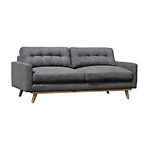 Webster Sofa Grey, 8808623