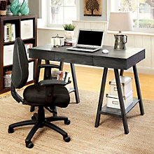 "Foreman Two Shelf Writing Desk - 47.25""W, 8804613"