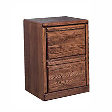 Contemporary Two Drawer Vertical File, FOD-1032-B
