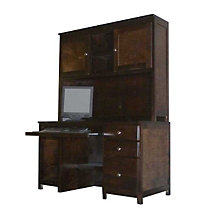 "Urban 56"" Computer Desk w/Hutch, OFG-DH0063"