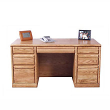 "Contemporary Executive Desk  -72""W, FOD-1146-B"