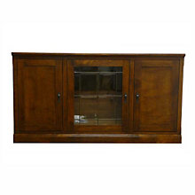 "Mission Style TV Console - 67""W, FOD-4125-M"