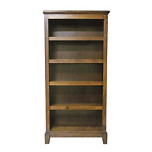 "Shaker Five Shelf Bookcase - 60""H, FOD-6123-S"