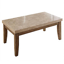 Franco Marble Top Rectangular Coffee Table, 8806898