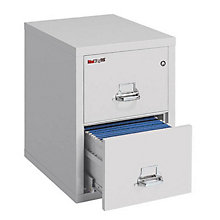 "Fireproof Two Drawer Legal Size Vertical File - 25""D, FRK-2-2125-C"
