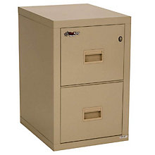 "Fireproof Two Drawer Vertical File - 22""D, FRK-2R1822-C"