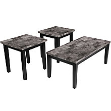 Contemporary 3 PC table set, 8812090