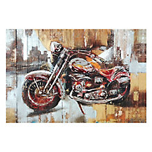 Motorcycle City Wall Décor, 8808777