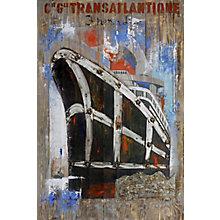 Oceanliner Wall Décor, 8808784