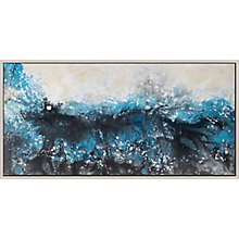 Deluge Wall Décor W/Frame, 8808789