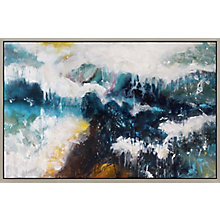 Whitecaps Wall Décor With Frame, 8808790