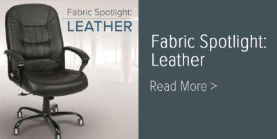 Fabric Spotlight: Leather