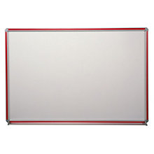 "Magnetic Porcelain Markerboard with Inserts - 48"" x 48"", GHE-DFM-44"