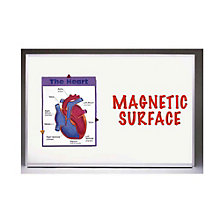 Porcelain on Steel Magnetic Whiteboard - 2' x 3', GHE-M1234
