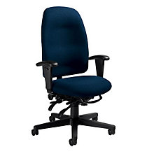 High Back Fabric Ergonomic Computer Chair, GLO-3217
