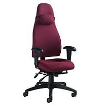 High Back Fabric Ergonomic Executive Chair, GLO-4430