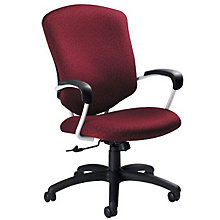 Supra High Back Fabric Executive Chair, GLO-5330-4UB