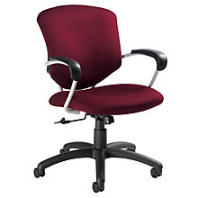 Fabric Mid Back Executive Chair, GLO-5331-4UB