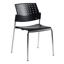 Black Stack Chair, GLO-6508