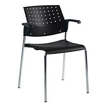 Black Stack Chair, GLO-6513
