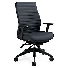 Aspen Fabric High Back Ergonomic Chair, 8813768