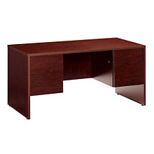 Double Pedestal Desk, GLO-G3060DP