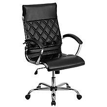 bonded leather office chair, 8812101