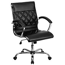 bonded leather office chair, 8812102