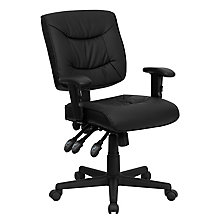 bonded leather office chair, 8812106