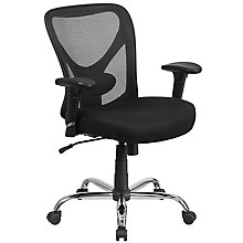Big & Tall Black Mesh Chair, 8812110