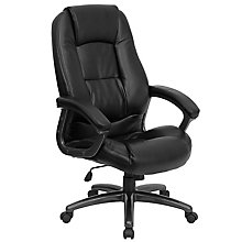 bonded leather office chair, 8812134