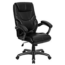 bonded leather office chair, 8812136
