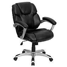 bonded leather office chair, 8812149