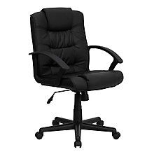bonded leather office chair, 8812150