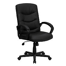 bonded leather office chair, 8812152