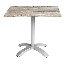 "Rectangular Table with Aluminum Base - 32""W x 24""D, 8822718"