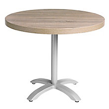 "Round Table with Aluminum Pedestal Base - 30""DIA, 8822795"