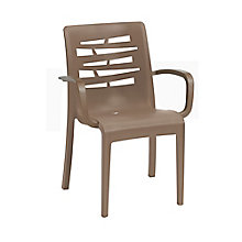 Outdoor Stacking Armchair with Wedge Back, 8822818