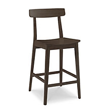 Currant Solid Bamboo Armless Counter Height Stool, 8806935