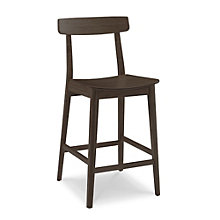 Currant Solid Bamboo Armless Bar Height Stool, 8806938