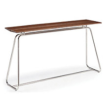 City Lights Solid Bamboo Bar Height Table, 8806961