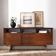 Aurora Solid Bamboo Media Unit, 8806968